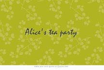 Alice's Tea Party / Hello, wonderlanders! Welcome to the tea party! You are free to pin anything Wonderland themed! Please do not post chain mail on this board. Bye Bye! / by Alice of Wonderland