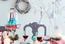Party Deko: Weihnachten Advent / Party Deko für Dein Weihnachtsfest. DIY, Ideen, Dekoration, Styling, Snacks, Food, Selbermachen, selber machen, selbstgemacht, Papier, Basteln, Feste, Feiern, Rezepte, Tischdeko, Tischdekoration, Weihnachtszeit, Adventszeit, Winter, Adventskalender, Einladung, Printable, Freebie