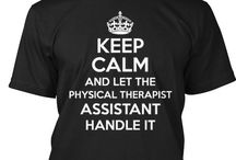 Physical Therapy / Motivation to get through PTA school!  / by Robyn Feder