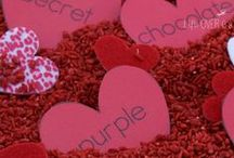 Valentine's Day for Kids / Kid-friendly ideas for Valentine's Day. Crafts, activities, fun food, and gift ideas.
