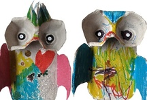 Owls / Owl-themed crafts and activities for kids