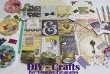 DIY & Crafts / I enjoy DIY projects as well as crafting items to make and use throughout my home. If you love DIY and crafts just as much as I do, I know you'll like this board. Thanks to all of the contributors! I have created a Facebook Group for all of us called Her Creative Escapades!!! =)