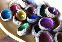 Acorns / Kids crafts and activities all about acorns