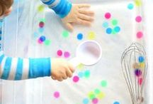 Sensory Play / Play with all your senses! This is a place to store all the great sensory bin and sensory play ideas that I find.