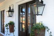 Doors & Porches... Enter in Style / Front doors, front porches, and elegant entry ways to the home / by New England Fine Living
