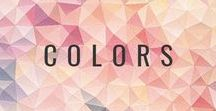 Colors / Beautiful color combinations are important in so many different ways!  Here, I've compiled a few of my favorite color combos to help inspire you (and me)!