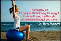 Health & Fitness / Tips to keep yourself healthy and fit. Its not about dress size, weight and emulating teenage girls in VS - you have to focus on health from the inside out - not the other way around - duh! / by Heather Bodkin-Sacks