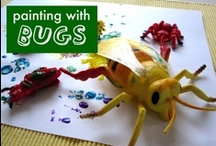 Bugs, Spiders & Other Creepy Crawly Things / They're creepy & they're crawly... and kids love them! Here are crafts, activities, games, and more fun all about BUGS! / by Terri ~ Creative Family Fun