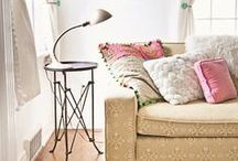 Living rooms and reading nooks
