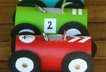 Cars, Trucks, & Things That Go / Crafts and activities for kids all about different vehicles. Vroom!