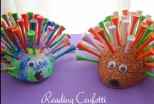 Animal Fun & Learning / Kids crafts and activities all about animals.