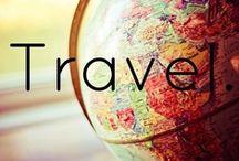 Take me with you / Er zijn nog zoveel plekken op de wereld waar ik heen wil. Een pinbord vol inspiratie. Met sommige mooie plekjes waar ik al ben geweest.