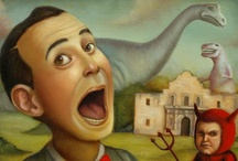 art- low brow/ fantastic journeys / by Jeanie Holland