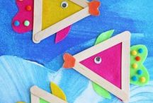 Under the Sea / Crafts and activities all about the ocean and the creatures living in it.