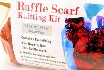 Knitting Kits of All Kinds / Kits for knitters knitting! / by Margaret Briggs