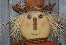 Garden - Folks & Scarecrows