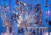 Winter Wonderland and Snowflake Party / Decoration ideas and Table settings for Winter Weddings or winter theme parties.  / by New England Fine Living