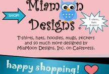 SHOPPING / T-shirts, hats, hoodies, mugs, stickers and so much more designed by MiaMoon Designs on Cafepress and other sponsors of Warrior Wisdom Lady.com