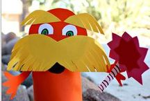 Dr. Seuss / Activities and crafts inspired by Dr. Seuss books / by Terri ~ Creative Family Fun