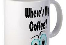 COFFEE MUGS / Unique Coffee Mugs available for purchase at Mia Moon Designs - http://www.cafepress.com/miamoondesigns/11288955
