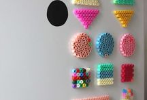 Hama Beads DIY / A lot of DIY easy projects that you can do using Hama beads. Get inspired and start to create today