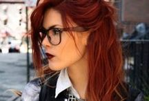 Red hair / The beauty of the red hair... I really love the look of it.