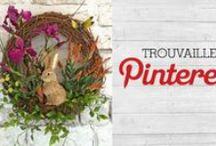 Trouvailles Pinterest: Couronne de Pâques
