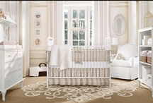 Decor: Nursing room / Inspiration for a soft and feminine yet classic nursing room in shades of blush and rose. / by The Real Crystal Grace
