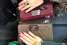 Arm Candy - Bags of all shapes and sizes! / by Mehrnaz Shirriz