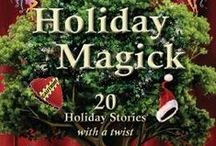 All Souls Day (Short Story) / A board devoted to my short story featured in the Spencer Hill Press anthology 'Holiday Magick'!