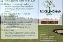 Rockingham Green / Fifty-two craftsman-style homesites bordering the Rockingham Country Club and conservation land. Prices starting in the Mid $300s!