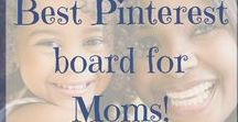 Best Pinterest Board for Moms / For Moms, by Moms....follow this board for the best mom to mom tips on parenting, cooking and baking, crafts, personal finance, education and homeschooling and so much more.