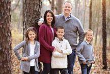 Family Portrait ideas / Family portrait session ideas