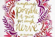 Inspiration / Inspirational quotes