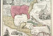 North American Continent Antique Maps