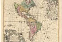 World Hemisphere Antique Maps / Antique maps of the World and Hemisphere present an interesting view of the many changes in navigation and discovery of the World and Hemisphere over the Centuries. These original old maps of World and Hemisphere show the ebb and flow of discovery and colonization. Vintage maps of the World and Hemisphere often show fictitious areas from incorrect geographic assumptions. World and Hemisphere and coastline mapping changed over the years as one power rose and another declined.
