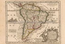 South American Continent Antique Maps / Antique maps of the South American Continent present an interesting view of the many changes in navigation and discovery of the South American Continent over the Centuries. These original vintage maps of the South American Continent show the ebb and flow of discovery and colonization. South American Continent and coastline mapping changed over the years as one power rose and another declined. These historical old South American Continent maps, including antique maps of Brazil, Argentina and Vene