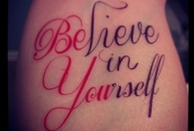 Tattoos/Tattoo Artists / by Brenda Wester