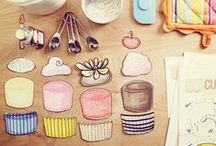 Cupcake unit ideas / Homeschooling and after schooler themed ideas on teaching about cupcakes, cooking and math