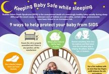 """Baby Safety Tips & Advice / """"Safety First!"""" is always the best motto when it comes to baby. This board is for new parents, family, caregivers and friends that want to stay in the know on how best to keep baby safe. #babysafety"""
