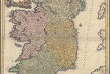 Ireland Antique Maps / Antique maps of Ireland present an interesting view of the many changes in Ireland over the Centuries. These original old maps of Ireland show the ebb and flow of political and geographical change. Vintage maps of Ireland often show Country and Kingdom names. The Irish boundaries changed over the years as one power rose and another declined. These historical Ireland maps, to include antique maps of Dublin, Cork and Belfast are truly pieces of Irish history on paper.