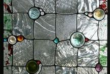 Mosaics, Stained Glass and Tiles / (and buttons, too!) / by Claretta Bennett