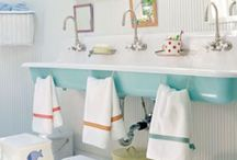 Cute kids bathrooms / by LL