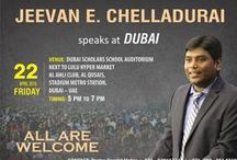 Events and Seminars / Images and Videos about Events and Seminars around the works in which Rev. Sam P. Chelladurai will share God's word.