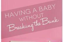 Money Saving Nursery Ideas / Ideas for saving money as you decorate your nursery. #nurseryonabudget @savingmoney