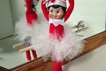 Elf on the shelf / Funny things to do with your Elf on the shelf: kid friendly