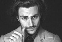 aaron taylor-johnson  / He likes older women....he's totally cute {Watch him in Anna Karenina and Savages, you'll understand}