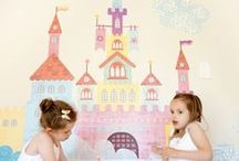 Princesses Theme : Nursery Design Inspiration / Need some #nurserydesign inspiration for your little princess.  Some great #babyfurniture, #nurserydecor to make your baby room look more like a fairy tale.
