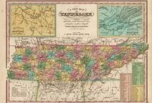 Tennessee Antique Maps
