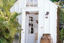 Coffee roasting shed ideas / Ideas on how to decorate and build a shed for roasting our coffee